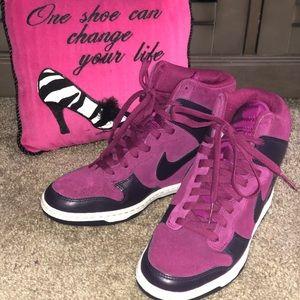 Nike Wedge Sneakers!